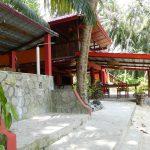 Jungle accommodation Asu island
