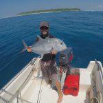 Fish on! Sozinhos surf lodge, Asu